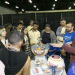 Estudiantes aprendieron sobre los principios de Robotica