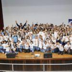 Un centenar de estudiantes son parte de la iniciativa educativa Reporteros Positivos. Foto Emilio León Photography